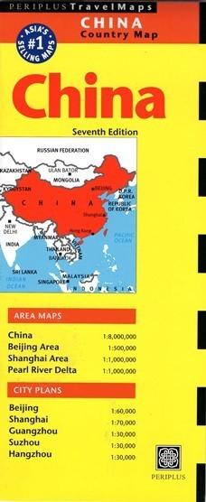 CHINY mapa PERIPLUS