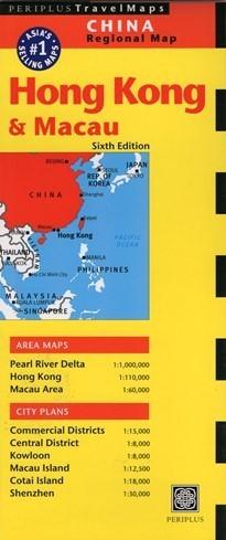 HONG KONG I MACAU mapa PERIPLUS