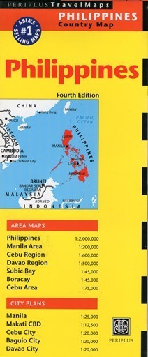 FILIPINY PHILIPPINES mapa PERIPLUS
