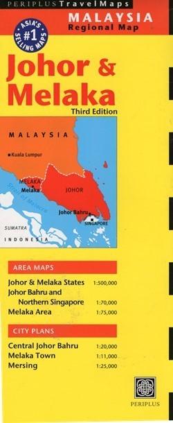 JOHOR I MELAKA mapa PERIPLUS