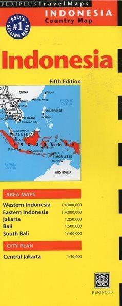 INDONEZJA INDONESIA mapa PERIPLUS
