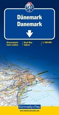 DANIA mapa samochodowa 1:300 000 Kummerly + Frey