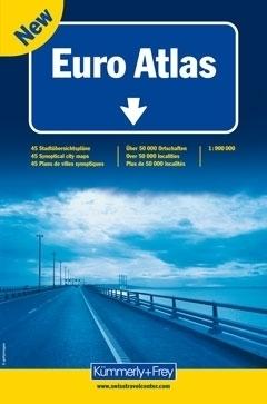 ATLAS EUROPY atlas samochodowy 1:900 000 Kummerly + Frey