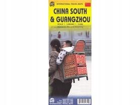 GUANGZHOU CHINY POŁUDNIOWE mapa 1:15 000 ITMB