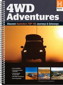 AUSTRALIA 4WD Adventures atlas samochodowy HEMA