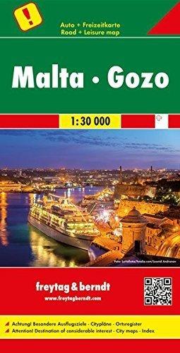 MALTA I GOZO mapa samochodowa 1:30 000 FREYTAG & BERNDT