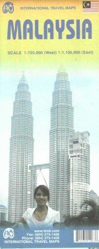 MALEZJA Malaysia 1:750 000 (W)/ 1:1 100 000 ITMB