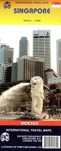 SINGAPUR SINGAPORE mapa 1:10 000 ITMB