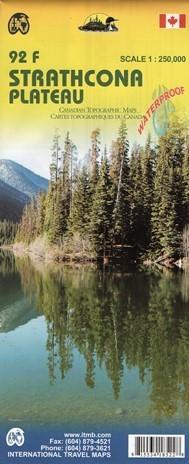 KANADA: PŁASKOWYŻ STRATHCONA I JEZIORO BUTTLE wodoodporna mapa 1:250 000/1:50 000 ITMB
