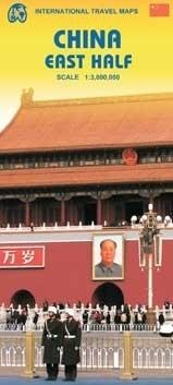 CHINY CZĘŚĆ WSCHODNIA mapa samochodowa 1:3 000 000 ITMB