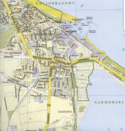 Wladyslawowo Plan Miasta 1 16 000 Daunpol