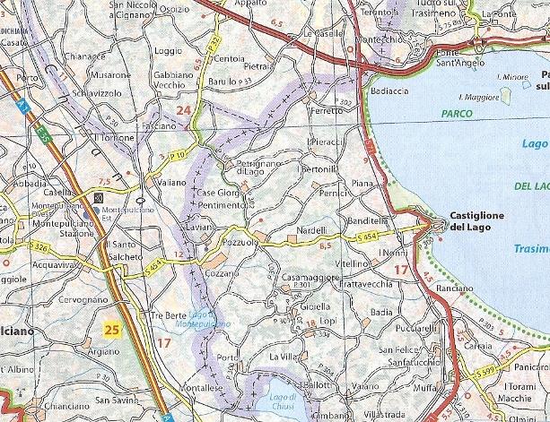 353 Lombardia Mapa Samochodowa 1 200 000 Michelin