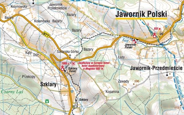 Okolice Rzeszowa Czesc Poludniowa Mapa Turystyczna 1 50 000 Compass