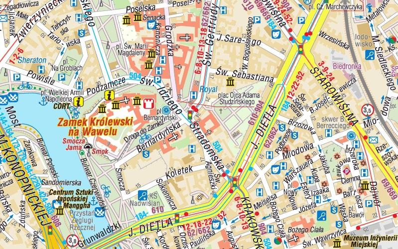 Krakow Plan Krakowa Plan Miasta 1 20 000 1 10 000 Compass 2014