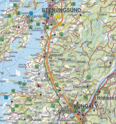 schweden sud malmo helsingborg kalmar autokarte 1 250 000 blatt 1 freytag berndt auto freizeitkarten