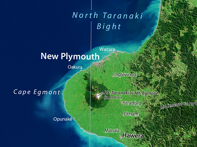 0497016dfce28 Nowa, całkowicie przeprojektowana mapa satelitarna Nowej Zelandii, złożona  z 94 bardzo aktualnych pojedynczych obrazów nowego satelity Landsat 8  (NASA).