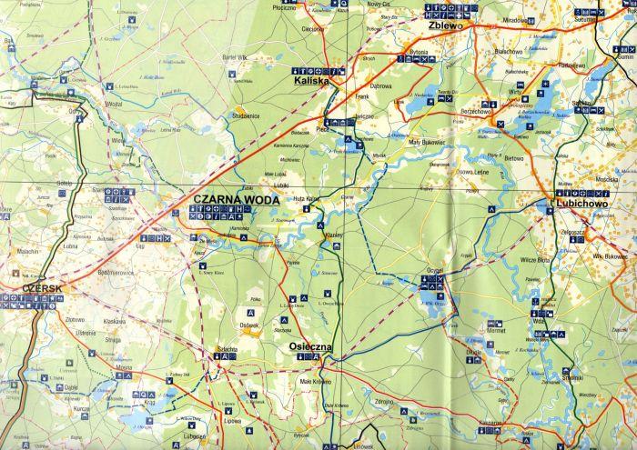 Kociewie Mapa Turystyczna 1 150 000 Wyd Region