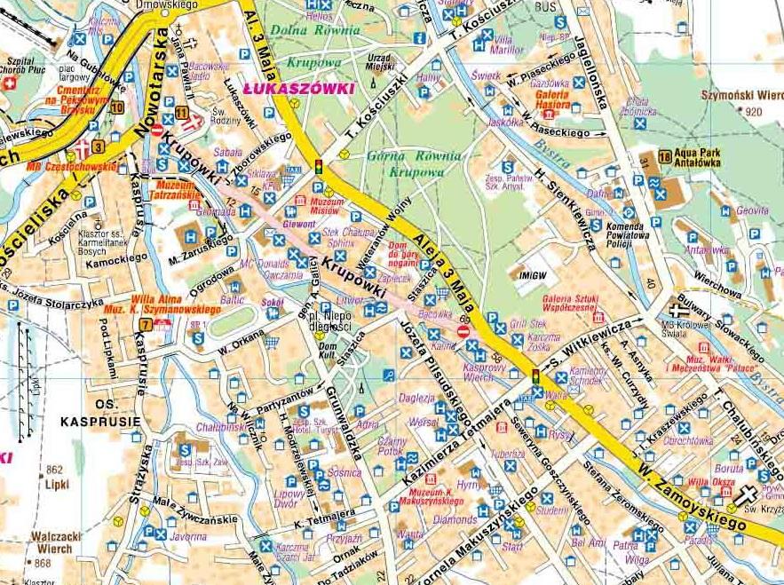 Zakopane I Okolice Na Lato Mapa Turystyczna Compass 2014